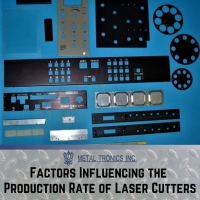 Factors Influencing the Production Rate of Laser Cutters